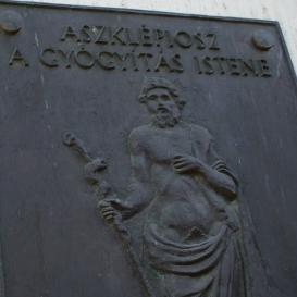Aszklépiosz, a gyógyítás Istene