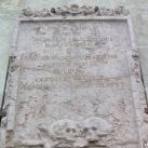 Zrinyi Péter és Frangepán Ferenc sírköve