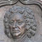 Esterházy Pál herceg domborműves emléktáblája