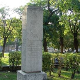 Horváth Mihály-emlékoszlop