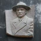 Dr. Róth Emil domborműves emléktáblája