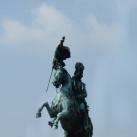 Károly főherceg lovasszobra