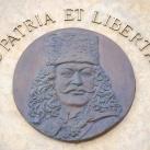 II. Rákóczi Ferenc domborműves emléktáblája