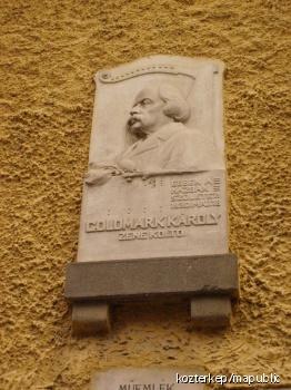 Goldmark Károly-emléktábla