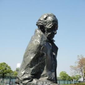 Lukács György szobra