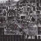 Plasztikus fali kompozíció