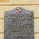 Deák Ferenc-emléktábla