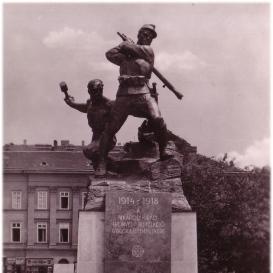 1. honvéd és népfölkelő gyalogezred emlékműve