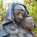 Csurgói Madonna - Benedetti Gyöngyi síremléke