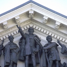 Kossuth Lajos-szoborcsoport