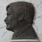 Vass Lajos domborműves emléktáblája