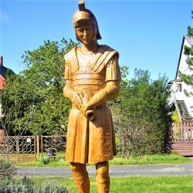 Római katona szobra