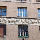 A Förster-ház domborműves antik jelenete