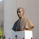 Szepessy Ignác pécsi püspök mellszobra