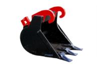 Caterpillar - Tieflöffel 300mm mit Aufsteckschneide - Tieflöffel
