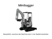 Takeuchi - TB 016 - Minibagger