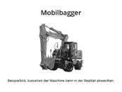 Liebherr A 910 Mobilbagger