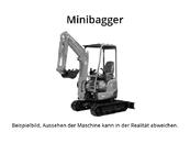 Terex TC 16 Minibagger