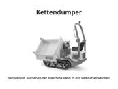 Kubota - KC 100 HD - Kettendumper