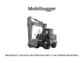 Liebherr - A 914 - Mobilbagger