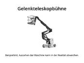 UpRight - AB38 - Gelenkteleskopbühnen