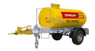 Brendon Powerwashers 1000 l Wasser-Transportanhänger