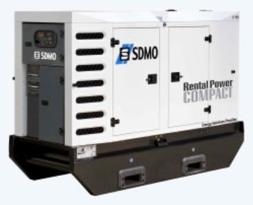 SDMO R135 C3 Stromgeneratoren