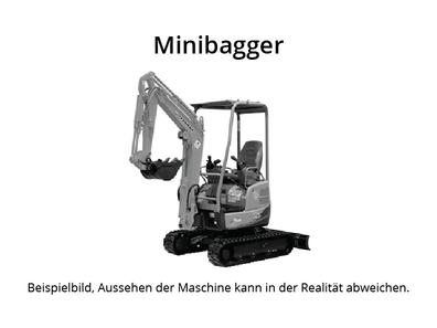 Komatsu PC14 Minibagger