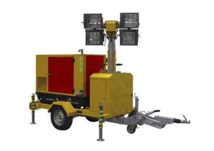 Zeppelin Power Systems GEPX 13-6 HDI Lichtteleskope mit Stromaggregat