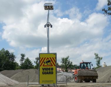 Video Guard Autark Baustellenkameras