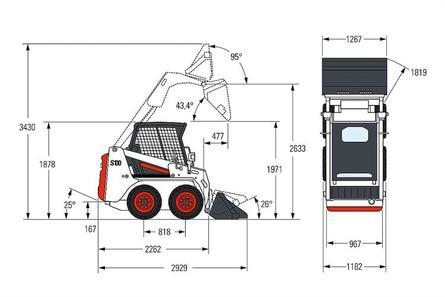 Bobcat S100 Kompaktlader
