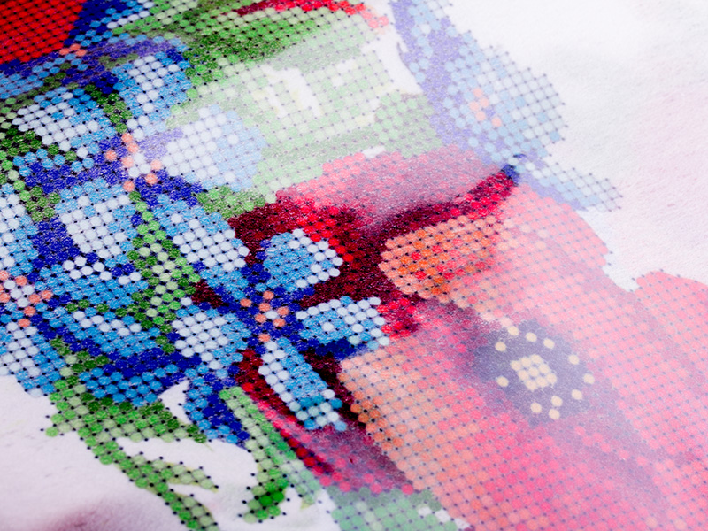 на схемы вышивка флизелине бисером