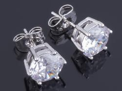 Сережки Xuping Silver Damond, 1 пара