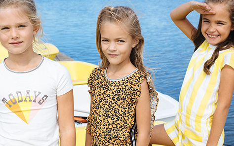 Dé kinderkleding trend: a touch of yellow