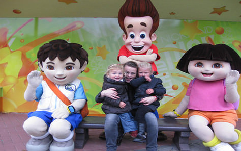 Kinder- en Familie Halloween in MoviePark Germany