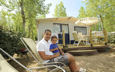 Lodge tent Italie