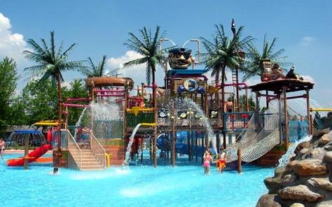 Vakantieparken met aquapark