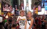 New York met kids