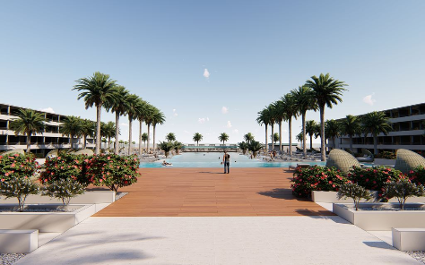 Nieuw: Mangrove Beach Resort op Curaçao, met Next Level Aquapark