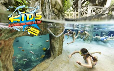 Met subtropisch zwemparadijs
