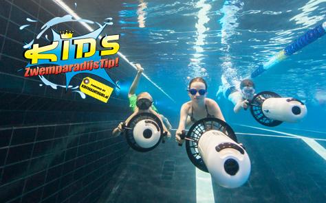 Met overdekt zwembad