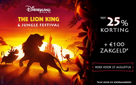 The Lion King & Jungle Festival in Disneyland Paris van 30 juni - 22 september