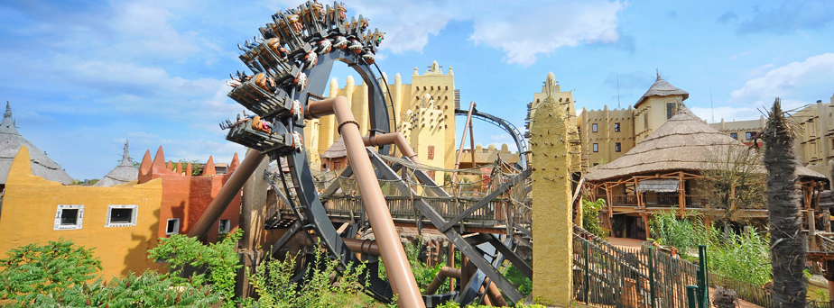 Attractie top 5 Phantasialand