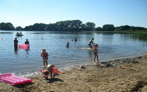 Camping am Blanksee in Klein-Pankow in Duitsland