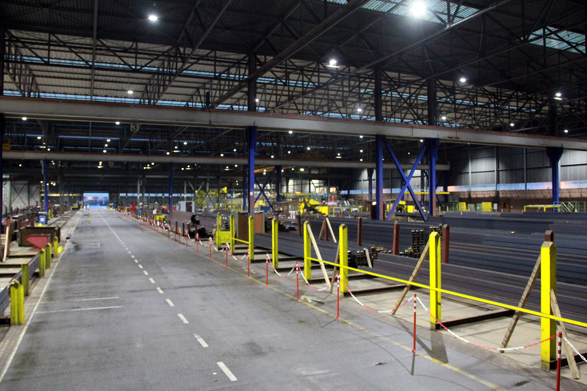 TEC-MAR PRINCE Projektbeispiel Arcelor Industrie