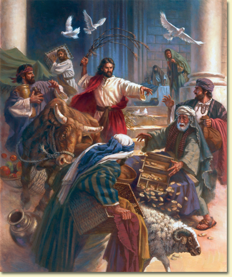 Expelling the money changers