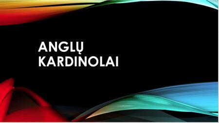 Anglų kardinaliai numeriai