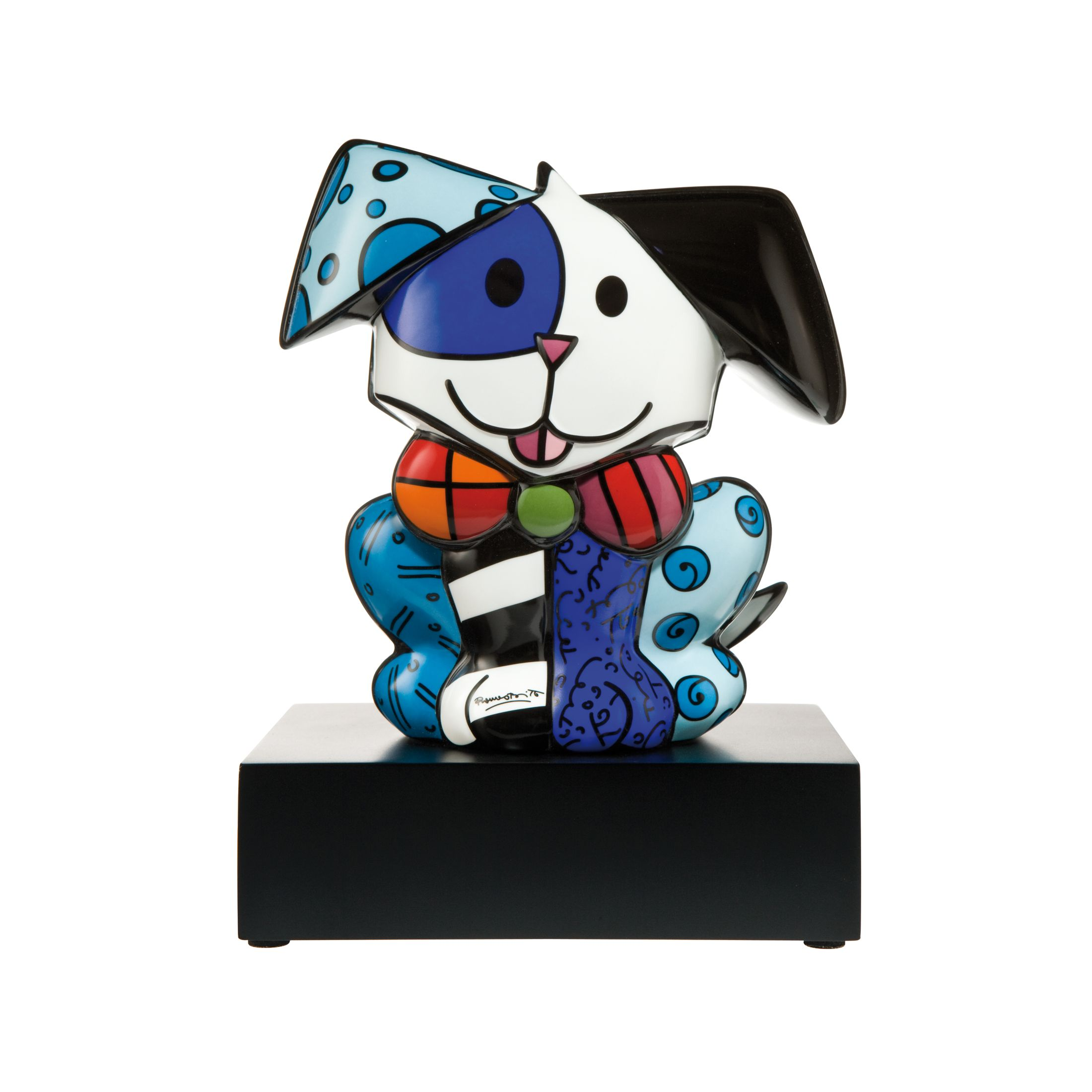 Chien His Royal Highness - Figurine 20,5 cm Romero Britto Pop Art