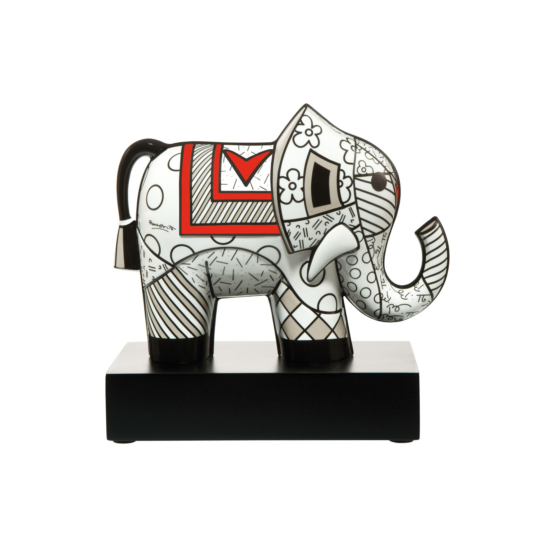 Eléphant en porcelaine Majesty britto