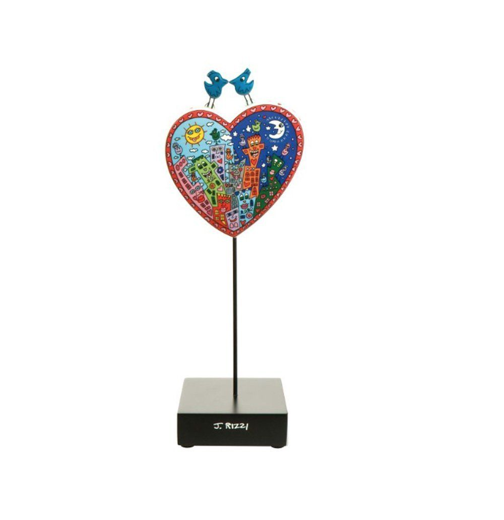 Figurine Goebel James Rizzi Pop Art Love in the Heart of City 26101541